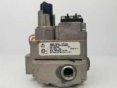 White Rodgers 36c03-300 Furnace Universal Gas Control Valve