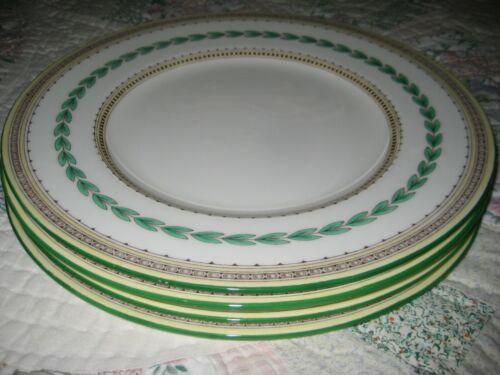 "SET OF 4 VINTAGE MINTON ASHBOURNE  DINNER PLATES EXC COND 10 1/2"""