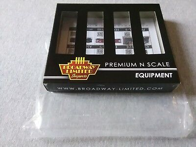 Broadway Limited N H32 Covered Hopper Conrail Gray 4-Pack #3172 Empty Box ~TS