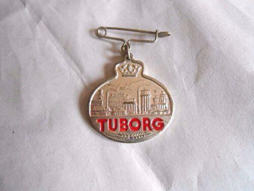 Vintage Tuborg Beer Advertising Hanging Charm Pin