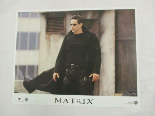 Vintage Complete Movie Lobby Card Set 1999 MATRIX Keanu Reeves Warner Brothers