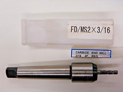 2mt Morse Taper Shank Tang-end 316 Em Holder W 316 Yg-1 End Mill B621