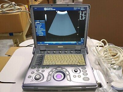 Ge Logiq E Bt09 Portable Ultrasound System - 2 Probes E8c-rs4c-rs