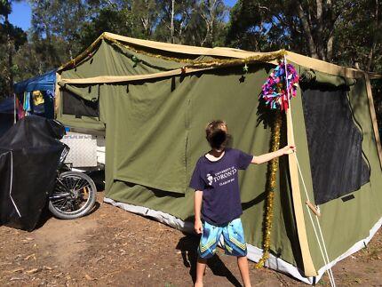 Australian made Bell Canvas Off Road Camper Trailer Moruya Heads Eurobodalla Area Preview