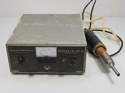 Branson Sonic Power Sonifier Converter Model S-125 Ultrasonic Probe Spare Part