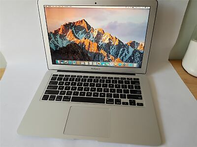 "APPLE-MACBOOK AIR-A1466-EARLY 2015-OS 10.12.6-8GB-256GB-13""-Intel Core i7@2.2GHz"