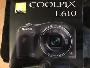 Nikon Coolpix L610 Digital Camera - Black