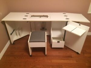 Stow Away Sewing Table