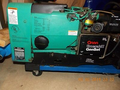 Onan Emerald 1 4000 Watt 4kw Rv Generator Onan Cummings Genset Motorhome Plus