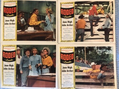RODEO COMPLETE LOBBY CARD SET JANENIGH