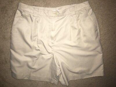 (Tail Golf Tennis Bermuda Shorts Sz 18 Walking Long Length Khaki Tan ComfortWaist)