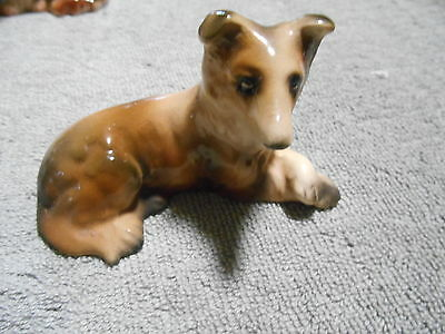 COLLIE DOG FIGURE  - JAPAN