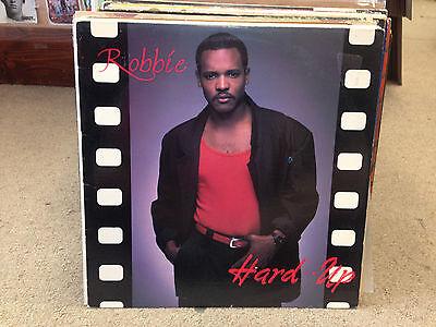 Robbie Hard Up Vinyl Lp Ex 1989 Westrock Rare Soul
