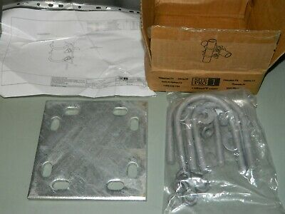 New Commscope Scx2-k Crossover Plate Mount Kit 2-38 2-78 Pipe