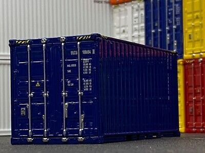 1/64 DCP BLUE 20' SHIPPING CONTAINER UNIT