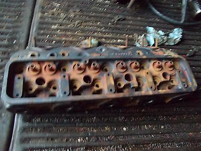 Farmall Ih 450 400 Diesel Tractor Gas Start Engine Motor Cylinder Head Prof Cked