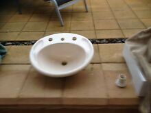 Bathroom Vanity Basin - Used - Cream in colour Magill Campbelltown Area Preview