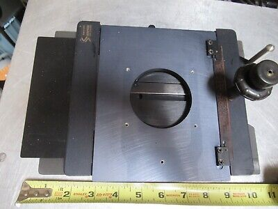 Semprex Xy Table Specimen Wafers Stage Microscope Part As Pictured Tc-4