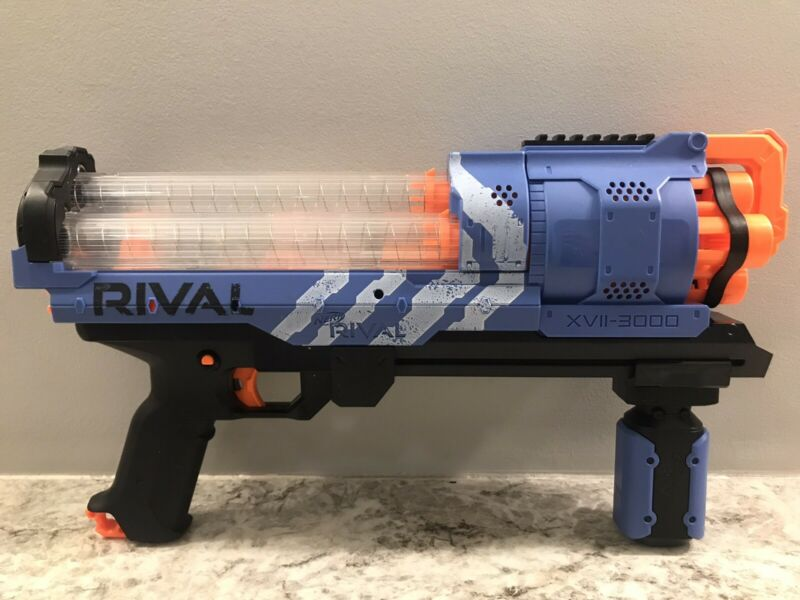 NERF Gun - RIVAL ARTEMIS XVII-3000 BLUE