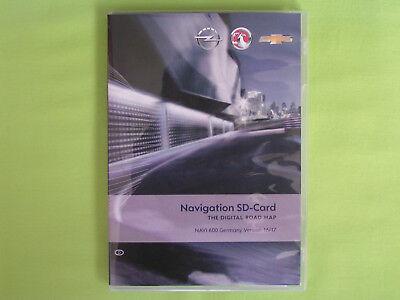 EU 2013 CASCADA MOKKA ASTRA J TOP SD CARD NAVIGATION OPEL NAVI 600 DEUTSCHLAND