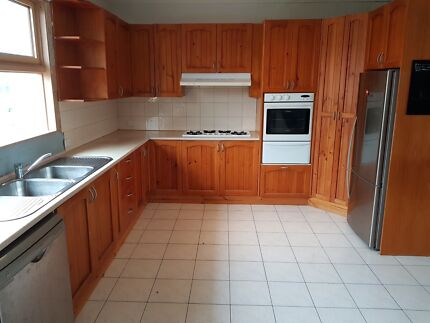 Large second hand kitchen including appliances