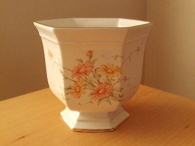 Vintage Royal Winton Floral Plant Pot Vase