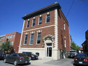 Bright Lower Level Office Space in Downtown Heritage Building!