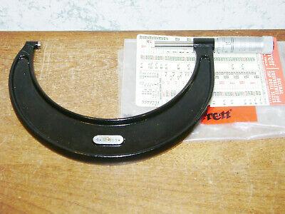 Starrett 4-5 Inch Micrometer No 436p