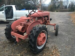 Farmall tractor antique vintage  FORD 9N and 8N 1939 thru 1952