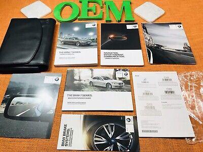 2015 BMW 7 SERIES 740i 740Li 750i 750Li 760Li OWNERS MANUAL +NAVI BK (NEW SET) Bmw 7 Series Owners Manual