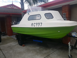 Bellboy fishing boat Epping Whittlesea Area Preview