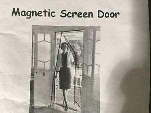 Fly screen for double doors - Magnetic close, North Lakes Pine Rivers Area Preview