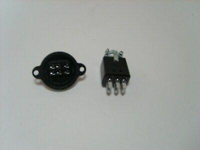 Cinch Jones 6 Pin Connector Pairset Beau Power Plug Pg-306-cct Sg-306-rp