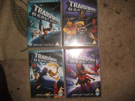 transformers dvds
