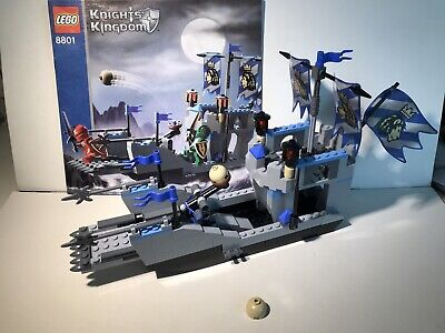 LEGO Castle Knights' Kingdom II Knights' Attack Barge 8801 No Minifig Display