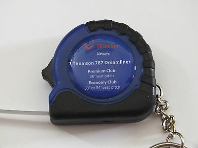 Thomson Airways 787 Dreamliner Key Ring & Tape Measure