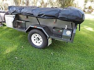 CAMPER TRAILER soft floor 4x4 off road independent coil springs Andrews Farm Playford Area Preview