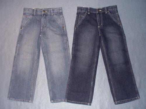 NWT Boys Wrangler Classic Carpenter Jeans w/ Adj Waist - U Pick Size + Shade