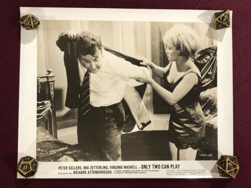 ONLY TWO CAN PLAY ORIGINAL MOVIE PHOTO STILL 1962 PETER SELLERS PINK PANTHER 7