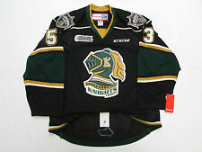 BO HORVAT LONDON KNIGHTS OHL AUTHENTIC THIRD CCM EDGE 2.0 7287 JERSEY