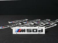 Original BMW F90 M5 Competition Schriftzug schwarz //////M 5 Logo badge label black