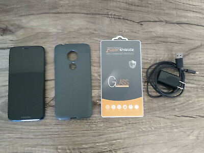 Motorola Moto G7 Power Bundle - 32GB - Marine Blue (Unlocked) (Single SIM)