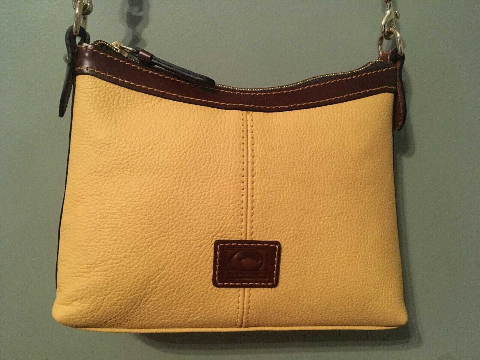 dooney and bourke crossbody handbag nwt lemon