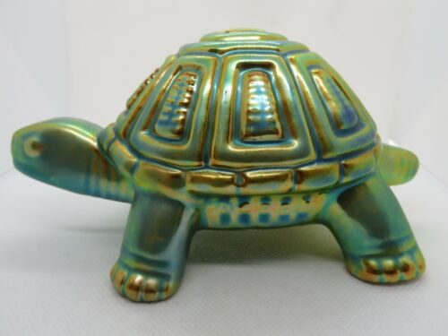 Zsolnay Hungary - Eosin Glazed Turtle Figure