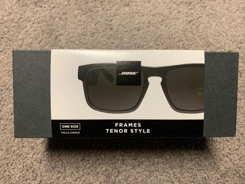Bose Frames Tenor - Black Rectangular Bluetooth Audio Sunglasses - BRAND NEW!