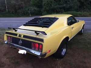 Ford Mustang Mach One Fastback