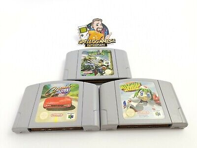 "Nintendo 64 Spiele "" Turok + Cruisn Usa + Mischief Makers "" N64 | Modul | PAL"
