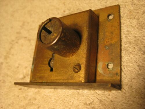 Antique Eagle Furniture,Cabinet or Drawer brass lock.