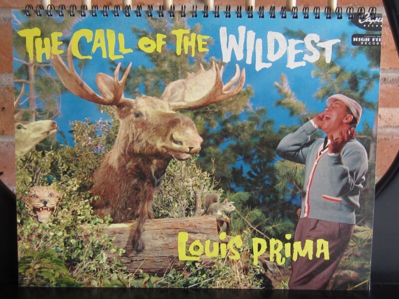 for the LOUIE PRIMA fan who has everything!ALBUM COVER NOTEBOOK/CALL OF THE WILD