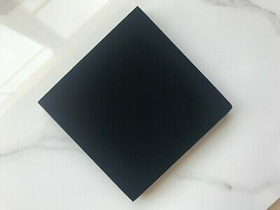 Display Foam Insert (4 Black Square Velvet Jewelry Foam Insert, High Quality Velvet Necklace)